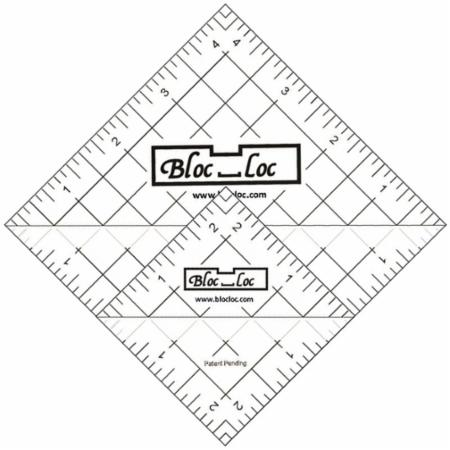 Half Square Triangle Ruler Set Number 6