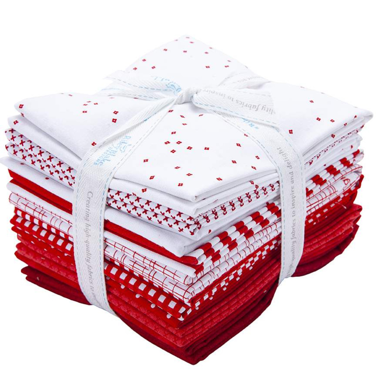 Riley Blake Half Yard Bundle - Red & White