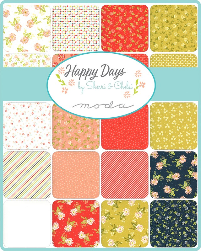 Moda Layer Cake - Happy Days by Sherri & Chelsi