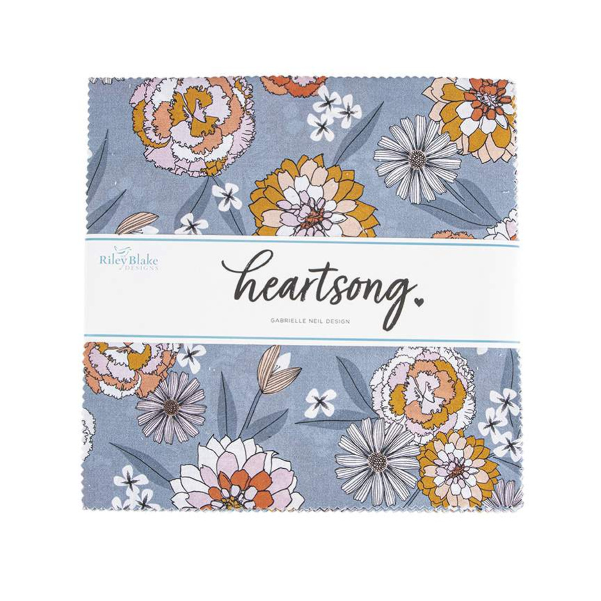 Riley Blake Layer Cake - Heartsong by Gabrielle Neil Design
