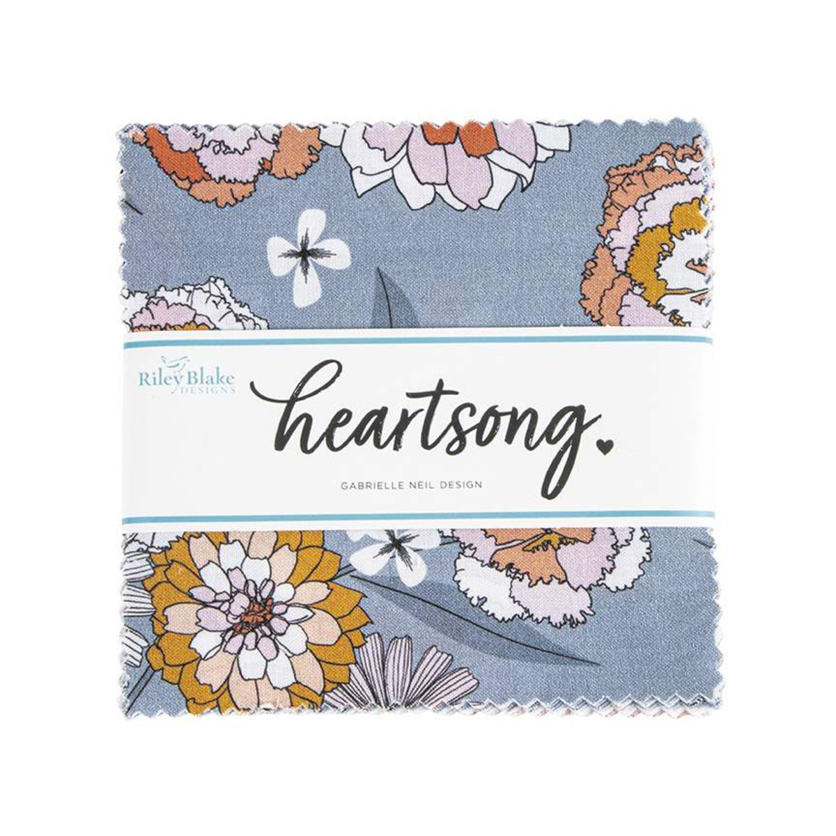 Riley Blake Charm Pack - Heartsong by Gabrielle Neil Design