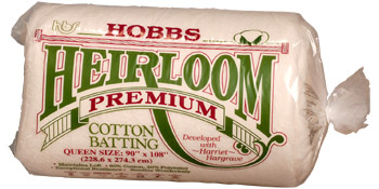 Heirloom Premium Blend Batting Crib Hobbs