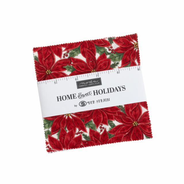 Moda Charm Pack - Home Sweet Holidays by Deb Strain