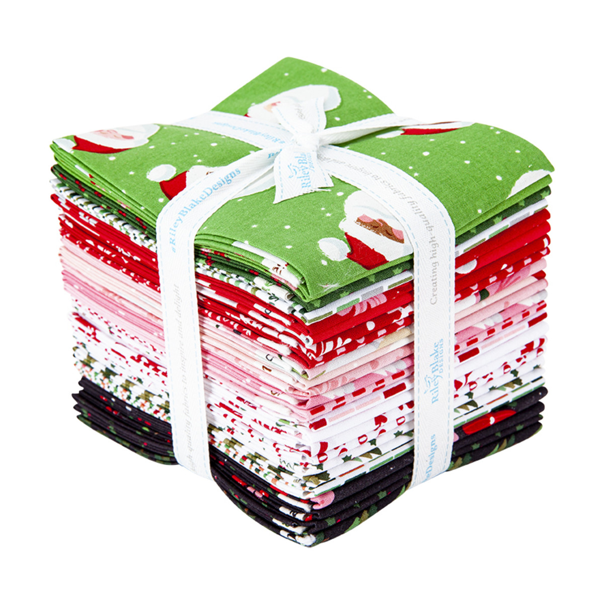 Riley Blake Fat Quarter Bundle - Holly Holiday by Christopher Thompson