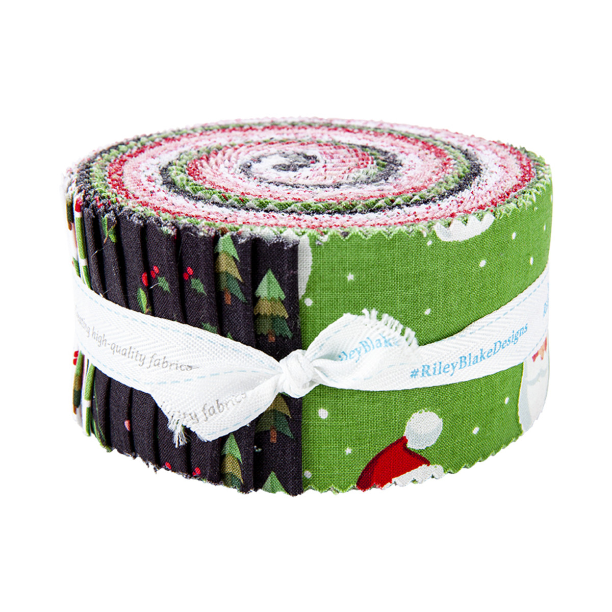 Riley Blake Jelly Roll - Holly Holiday by Christopher Thompson