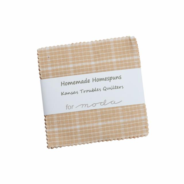 Moda Charm Pack - Homemade Homespuns by Kansas Troubles Quilters
