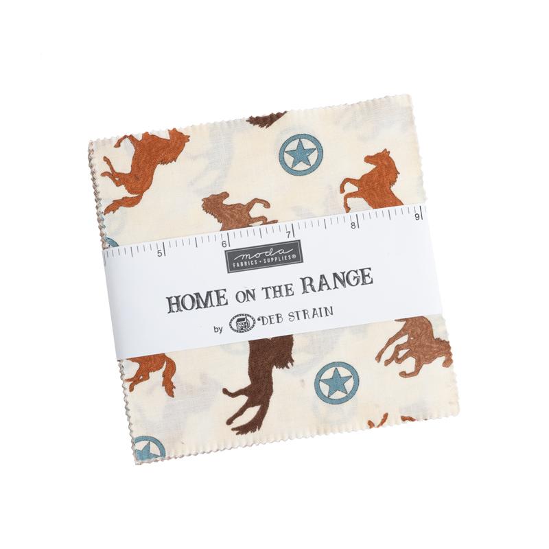 Moda Charm Pack - Home On The Range by Deb Strain
