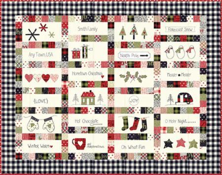 Hometown Christmas Pattern