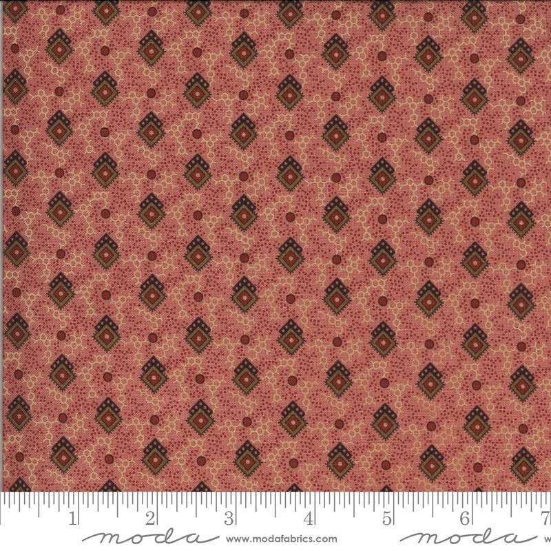 Moda Hopewell Pink 38111 14 Yardage