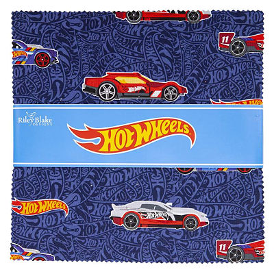 Riley Blake Layer Cake - Hot Wheels