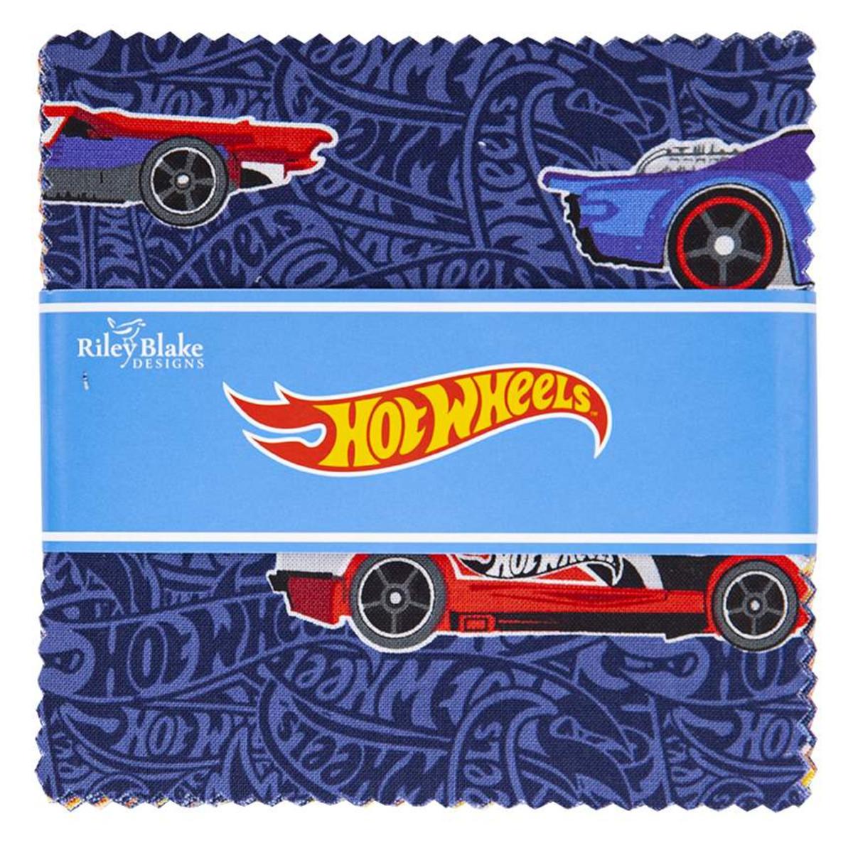 Riley Blake Charm Pack - Hot Wheels