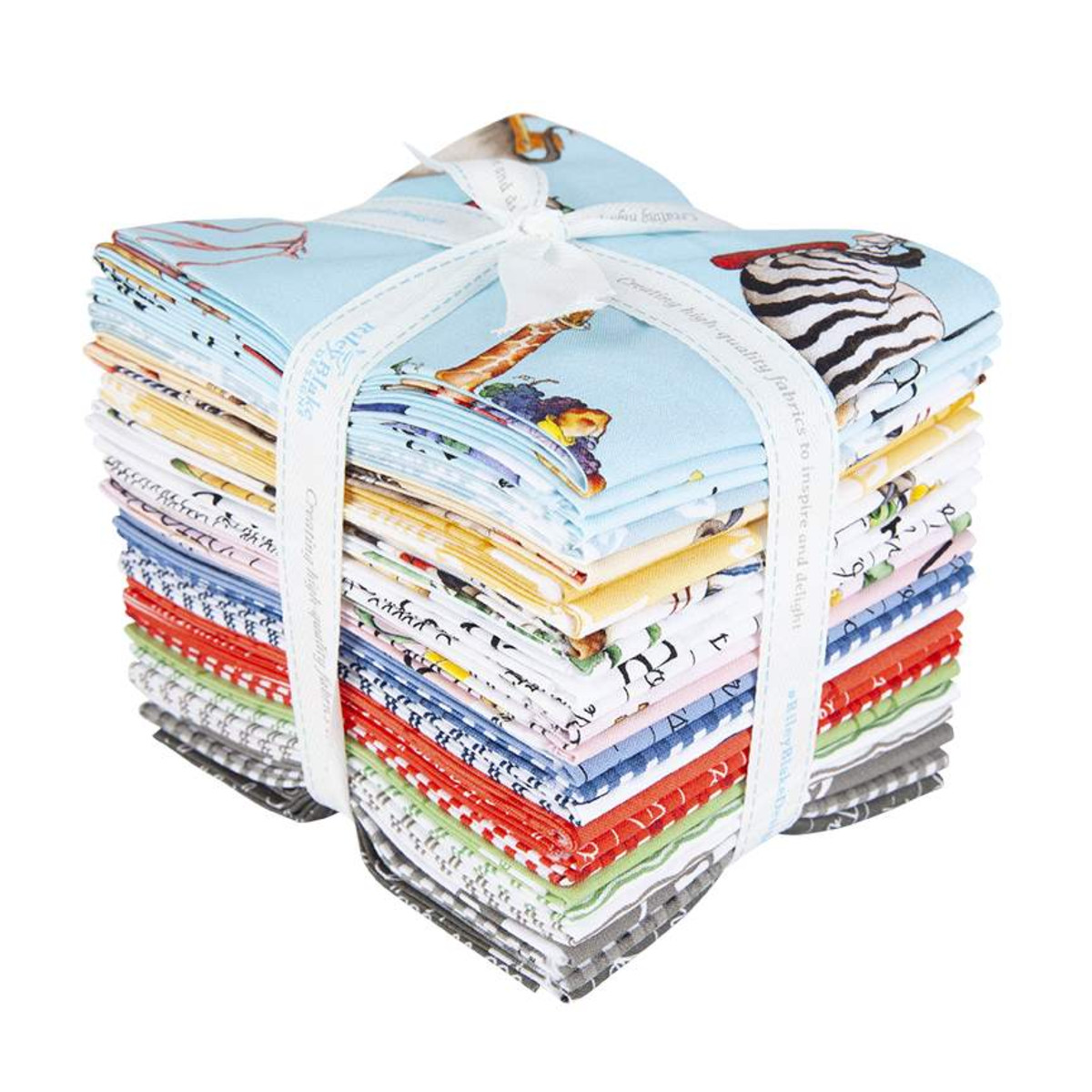 Riley Blake Fat Quarter Bundle - Hungry Animal Alphabet