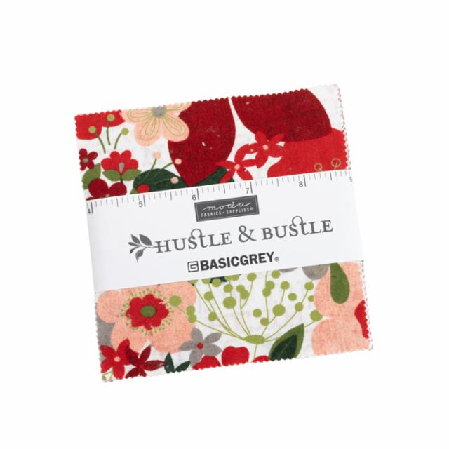 Moda Charm Pack - Hustle And Bustle by Basic Grey