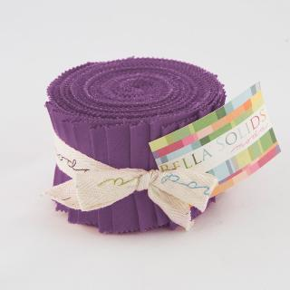 Solids Junior Jelly Roll - Hyacinth 9900-93