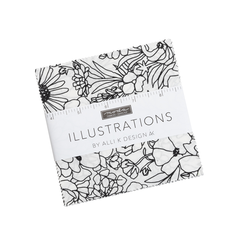 Moda Charm Pack - Illustrations by Alli K Design