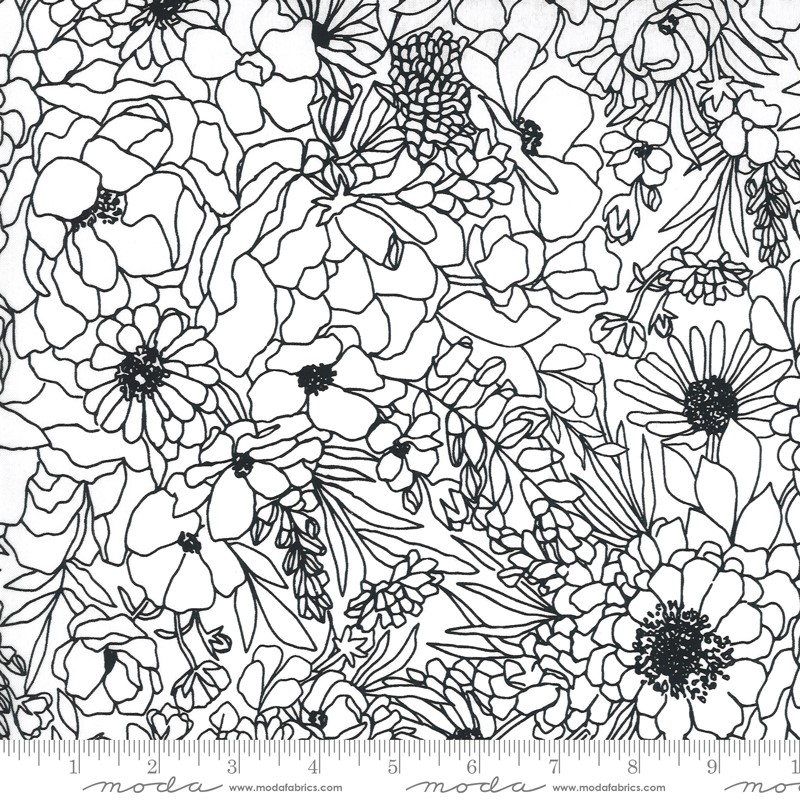 Moda Illustrations Paper 11501 11 Yardage
