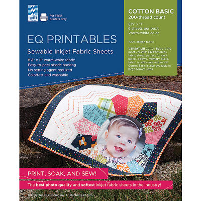 Inkjet Cotton Sheets 6ct 8.5x11