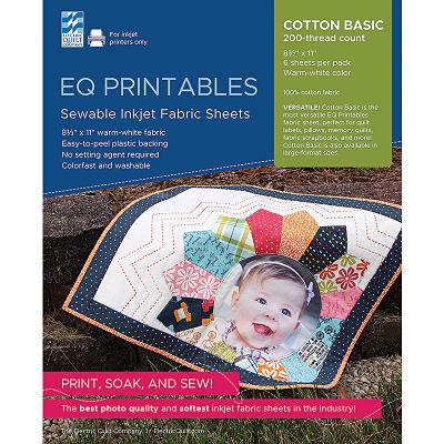 Inkjet Cotton Sheets 6ct 8.5x11
