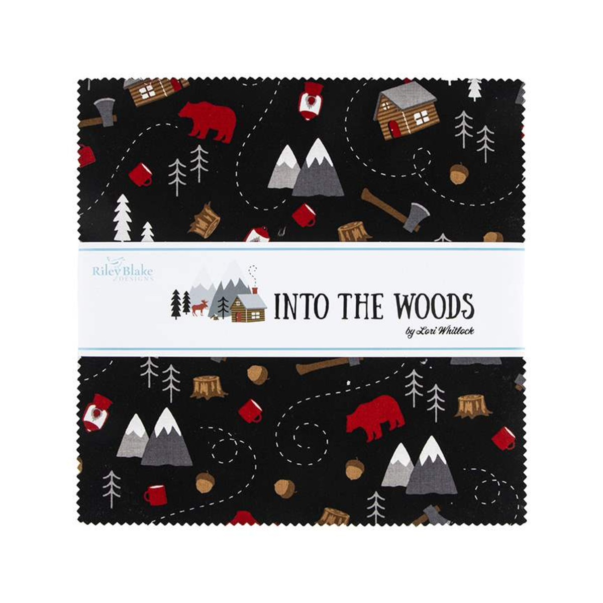 Riley Blake Layer Cake - Into the Woods by Lori Whitlock