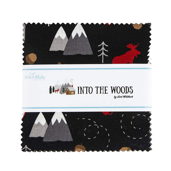 Riley Blake Charm Pack - Into the Woods by Lori Whitlock