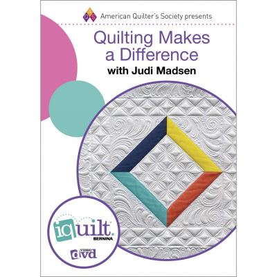 Quilting Makes A Difference DVD by Judi Madsen