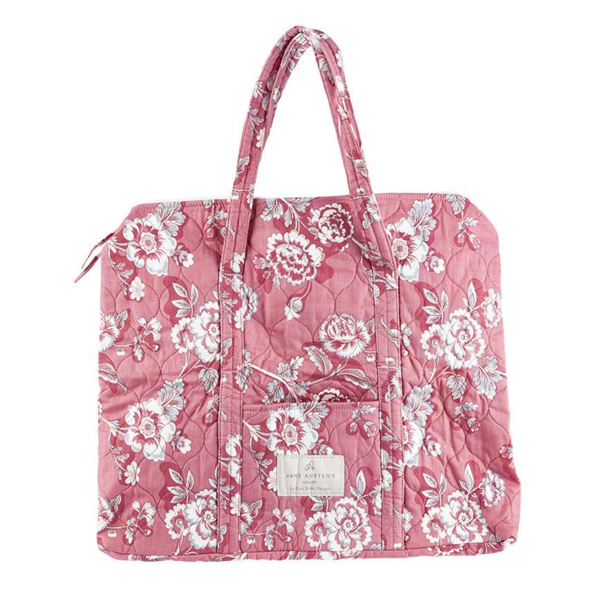 Jane Austen Quilted Bag