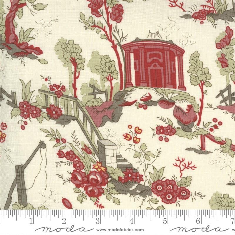 Moda Jardin De Fleurs Pearl 13890 15 Yardage