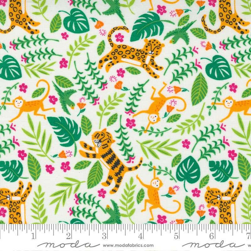 Moda Jungle Paradise Cloud 20783 11 Yardage