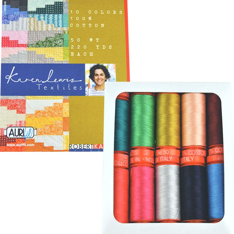 Karen Lewis Textiles Aurifil 50wt