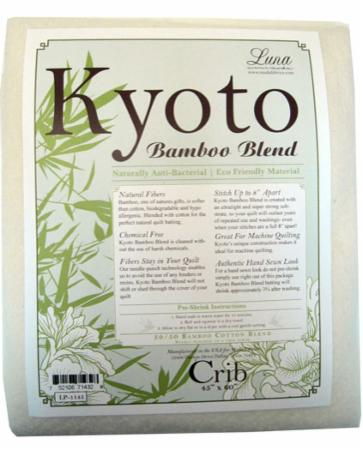 Kyoto Bamboo Blend Batting Crib Size