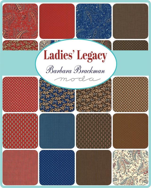 Moda Charm Pack - Ladies Legacy by Barbara Brackman