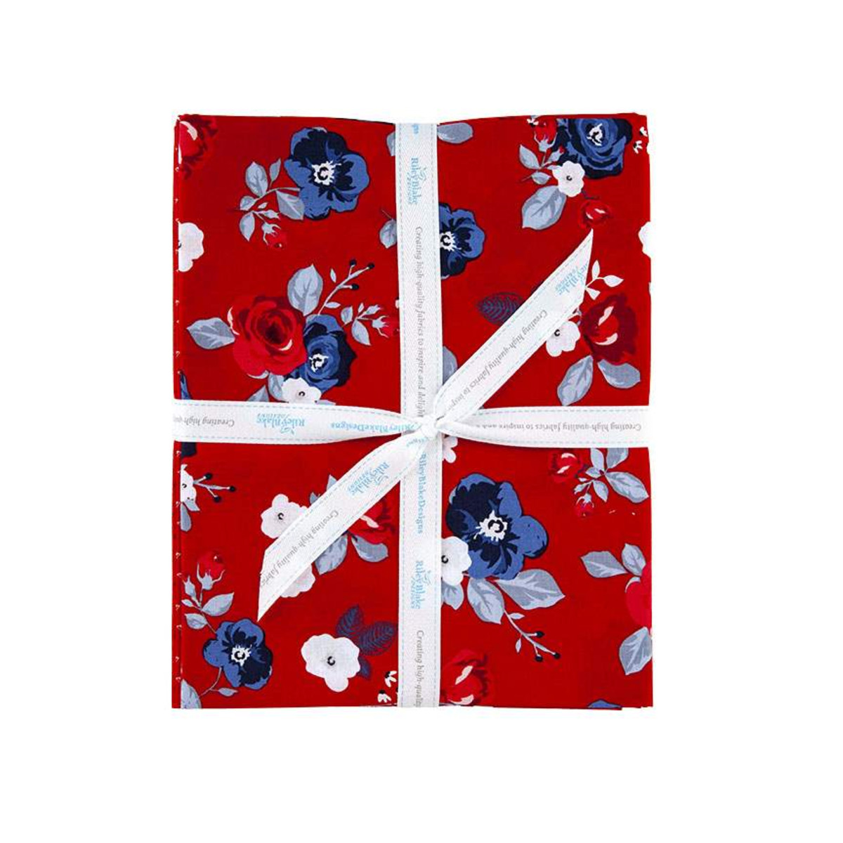 Riley Blake One Yard Bundle - Land of Liberty RED by My Mind's Eye