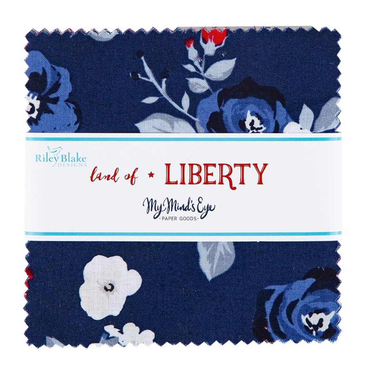 Riley Blake Charm Pack - Land of Liberty by My Mind's Eye