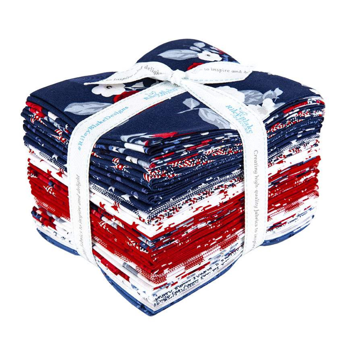 Riley Blake Fat Quarter Bundle - Land of Liberty by My Mind's Eye