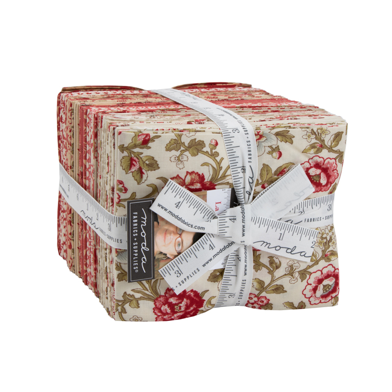 Moda Fat Quarter Bundle - La Rose Rouge by French General