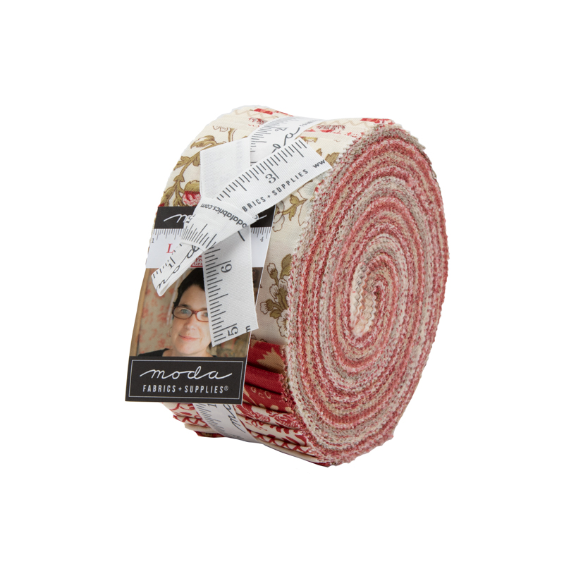 Moda Jelly Roll - La Rose Rouge by French General