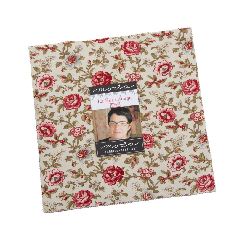 Moda Layer Cake - La Rose Rouge by French General