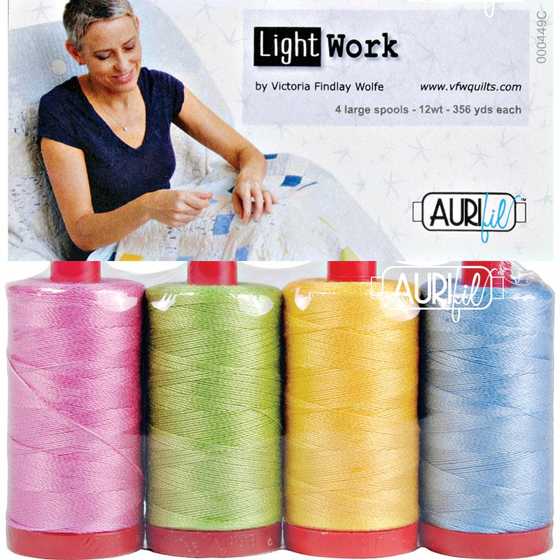 Lightwork Collection Colors 12wt Aurifil