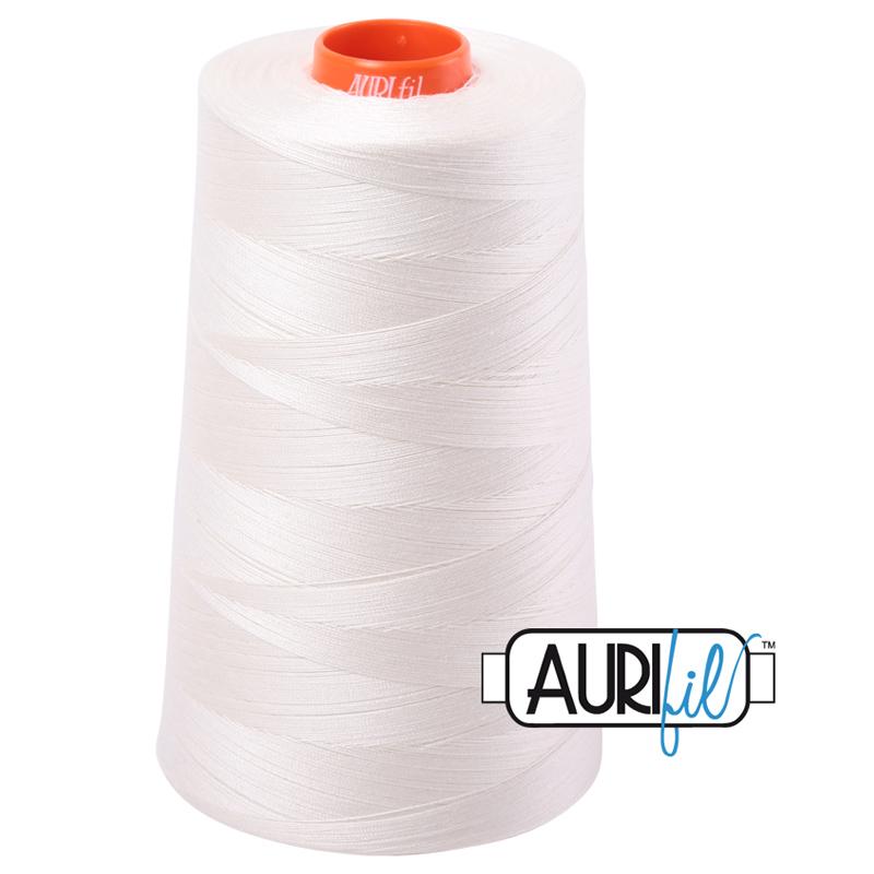 Long Arm Cotton 50wt 5900mt MK50CO 2026 Aurifil Cone