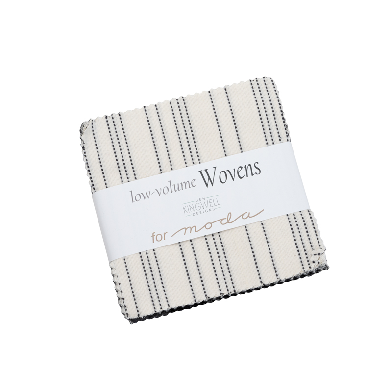 Moda Charm Pack - Low Volume Wovens by Jen Kingwell