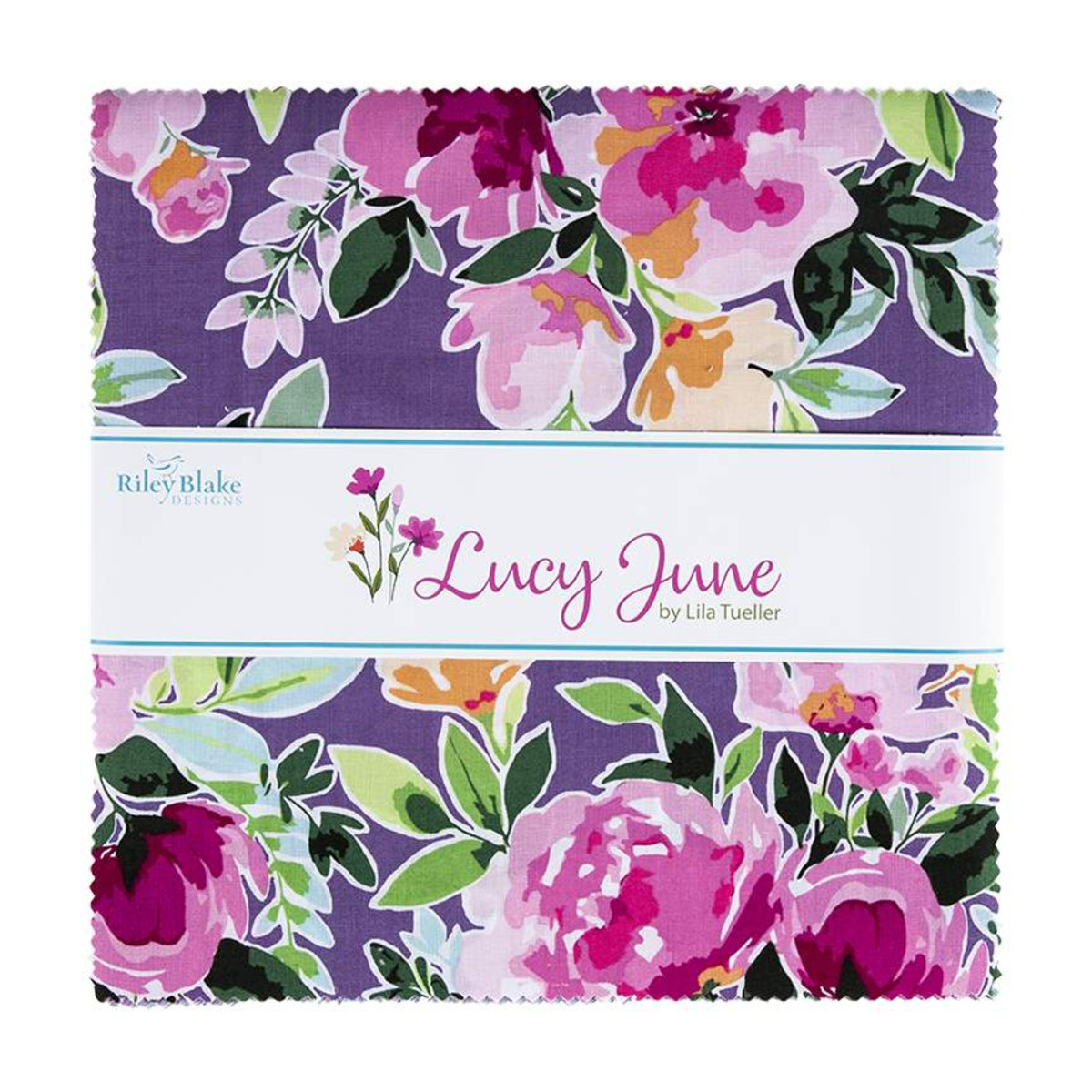 Riley Blake Layer Cake - Lucy June by Lila Tueller