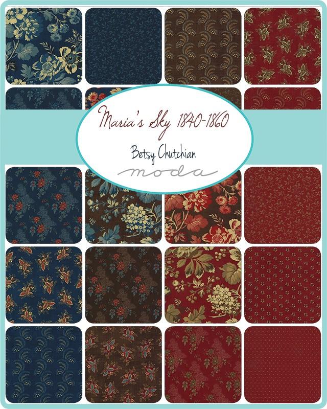 Moda Charm Pack - Marias Sky by Betsy Chutchian