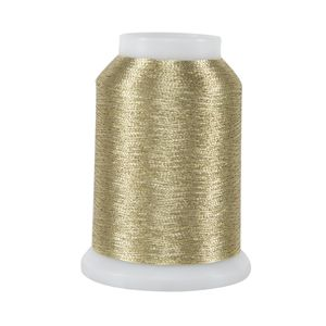 Metallics MINI Cone - 002 Light Gold 1090 yd