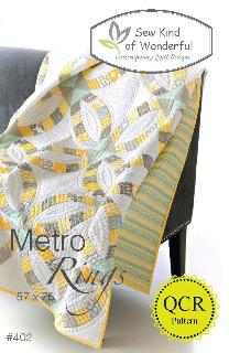 Metro Rings Quilt Pattern by Jenny Pedigo