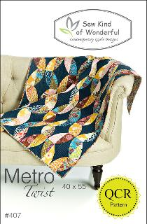Metro Twist Quilt Pattern by Jenny Pedigo
