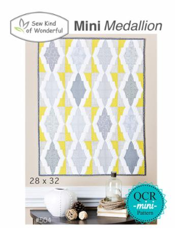 Mini Medallion Pattern by Sew Kind Of Wonderful