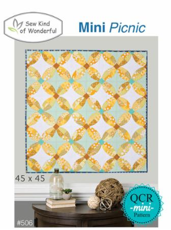 Mini Picnic Pattern by Sew Kind Of Wonderful