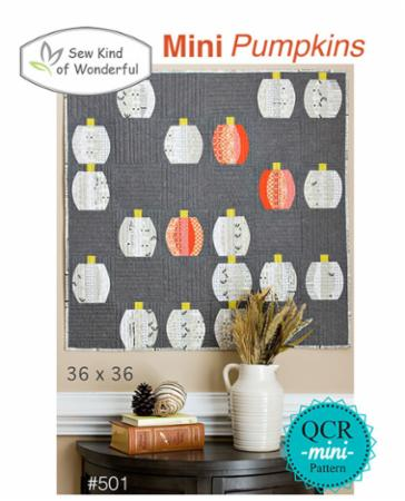 Mini Pumpkins Pattern by Sew Kind Of Wonderful