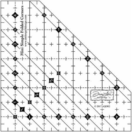 Mini Simple Folded Corners Ruler