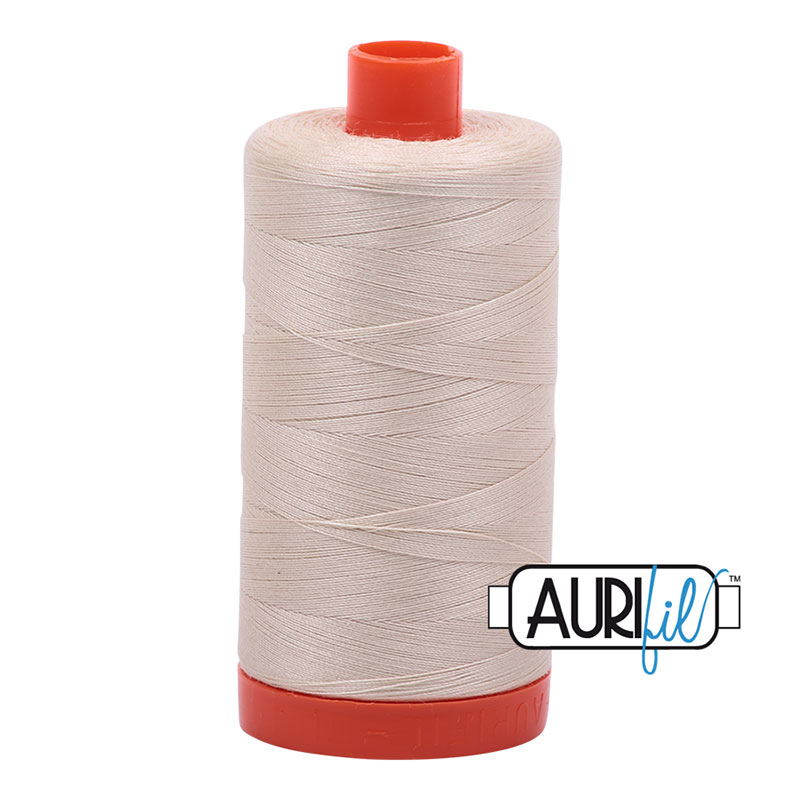 Cotton Mako Thread 50wt MK50 2310 Aurifil - Lite Beige